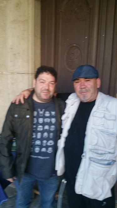 Manu y Jorge Asin