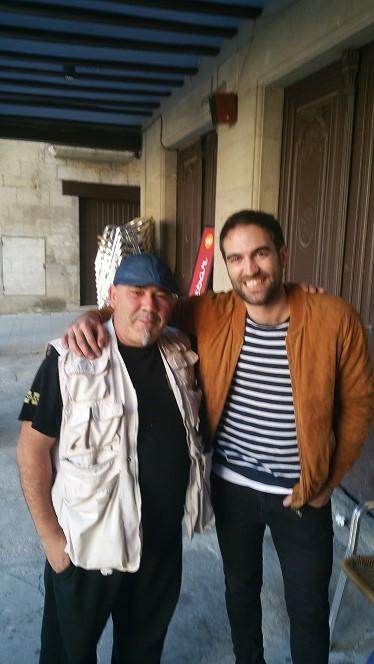 Manu y Jon Plazaola
